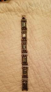 1960's Del Rio Abalone bracelet .925